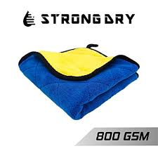Strongdry Microfiber Cloth for <b>Car</b> Detailing 800GSM <b>Coral Fleece</b> ...
