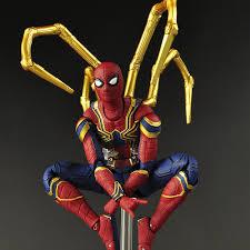 17cm Marvel <b>2019</b> the <b>Avengers 3 Infinity</b> War Iron Spider Man ...