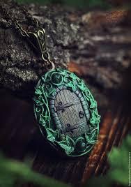 Открывающийся <b>медальон</b> Elven Forest | Вот <b>ты</b> идешь по д…