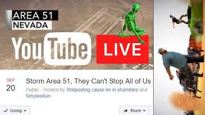 Area 51 Live: Storm Area 51, They Can