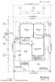 Thai House Plans     baht House   TeakDoor com   The Thailand        here is the floor plan  this has been cropped and resized for the forum  the plans that you   are full size and just need to be printed out