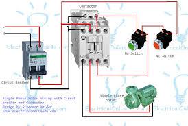 wiring diagram contactor wiring image wiring diagram single phase motor wiring contactor diagram on wiring diagram contactor
