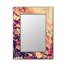 Настенное зеркало <b>Весна</b> в раме из <b>массива</b> сосны 50х65 ...