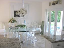 Glass Dining Room Tables Round Amazing Ultramodern Round Glass Dining Table Set Interior