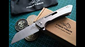 Складной EDC нож <b>FREETIGER FT-601</b>(China).Первые ...