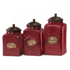 Green Kitchen Canister Set Kitchen Canisters Ceramic Design Ideas Agemslifecom