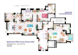 House of Simpson family   Both floorplans by nikneuk on DeviantArtJerry Seinfeld Apartment floorplan by nikneuk  Apartments of Will Truman  Grace Adler and Jack by nikneuk