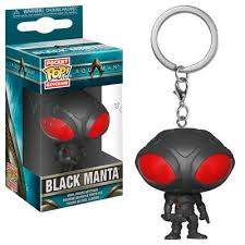 <b>Pop</b> Keychain Aquaman- <b>Black Manta</b>