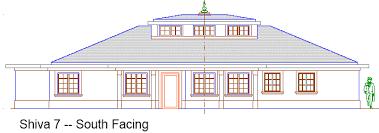 Vastu Homes  South Facing Shiva Series PlansShiva South Facing Plan
