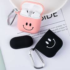 Lovely Pink Smile <b>Matte Hard PC Earphone</b> Case for Airpods 1 2 ...