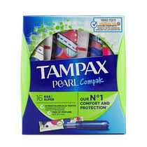 <b>Тампоны Tampax Compak Pearl</b> Super Duo с аппликатором ...