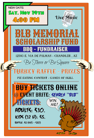 the 2016 bbq and raffle flyer the blb memorial scholarship fund the 2016 bbq and raffle flyer