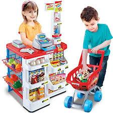 bargains-galore <b>kids supermarket</b> shop <b>grocery</b> pretend <b>toy</b> trolley...
