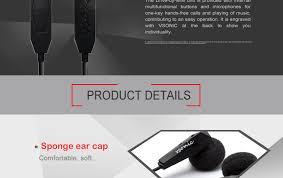 VSONIC VSD1Pi Sleep <b>earphones</b> HIFI microphone Portable In-<b>line</b> ...