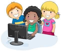 Resultat d'imatges de niña estudiando con el ordenador