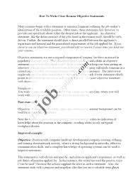 resume career objective hospitality cipanewsletter cover letter objective in a resume example example of objective in
