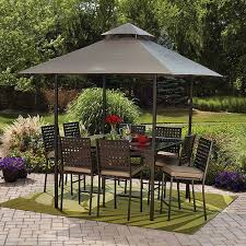 mainstays droma piece gathering height patio dining set seats patio bar height tables balcony height patio dining furniture