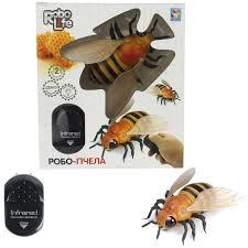 Купить <b>Робот 1toy</b> Т14328 <b>RoboLife</b>: Робо-Пчела на ИК ...