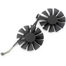 <b>2pcs</b>/<b>lot</b> computer VGA <b>cooler Video card</b> cooling <b>fan</b> for ASUS ...