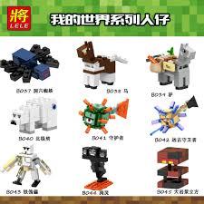 <b>Legoing Minecraft</b> series miniFigures building blocks <b>My world</b> ...