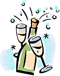 Image result for champagne glass clipart