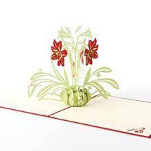 Креативные <b>3D открытки ручной работы</b> Цветы нарциссы ...