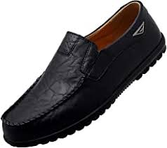 Men's Soft Leather Shoes - Amazon.com