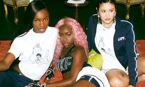 2019 women streetwear hip hop stars sequins tshirt short sleeve silver party loose t shirt festival gothic top