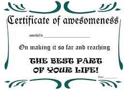 printable certificates and awards to include in your gift basket printable retirement certificate 3