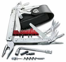Купить <b>Мультитул Victorinox SwissTool X</b> Plus серебристый ...