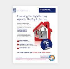 property flyer design advert design for property agent