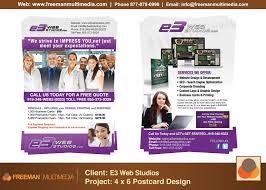 e solutions advertisement postcard flyer web design graphic e3 solutions advertisement postcard flyer web design graphic design marketing man multimedia