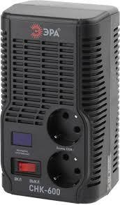 Купить <b>Стабилизатор напряжения ЭРА СНК-600</b>, черный в ...