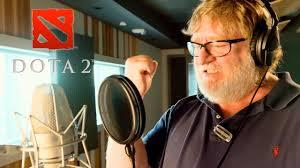 <b>Dota 2</b> - Gabe Newell Mega-Kills Announcer Pack Trailer ...