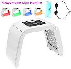 <b>LED</b> Photon Therapy 4 Color <b>Light Skin</b> Rejuvenation Treatment ...