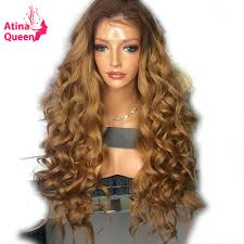 Atina <b>Queen 180</b> Density Two Tone Lace Front Human Hair Wigs ...
