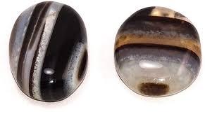 Buy Sahiba Gems 37 Cts/<b>2 Pcs</b> Sulemani Kala Hakik (Akik) <b>Stone</b> ...