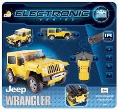 Электромеханический <b>конструктор Cobi</b> Electronic 21921 <b>Джип</b> ...