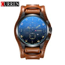 2019 <b>Hot Brand Luxury</b> Men Watch Couple Watch Big DialLeather ...