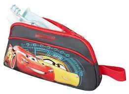 Купить <b>Косметичка American Tourister</b> 27C-08028 <b>тачки</b>, красный ...