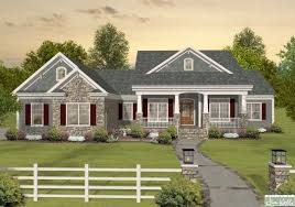 House Plans On Pinterest Home Builder And   Free Online Image        Craftsman One Story Ranch House Plans on house plans   home builder and