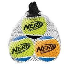 <b>Игрушка для собак Nerf</b> Мяч теннисный пищащий - 6 см Купить в ...