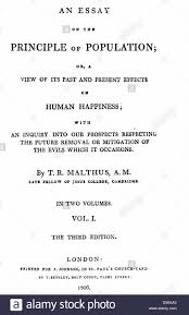 title page essay essay plan using title page of first volume of third edition of malthus stock photo title