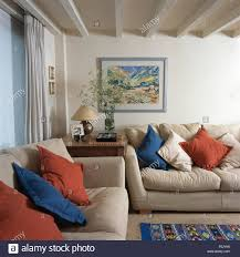 sofas living room traditional blue