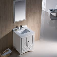 traditional style antique white bathroom: fresca oxford  antique white small traditional bathroom vanity mirror faucet