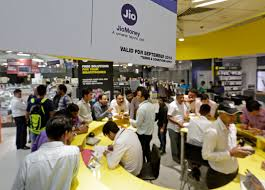 chaos in the telecom sector an opportunity for regulator trai to reliance digital store in photographer anindito mukherjee bloomberg