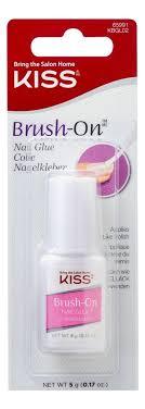 Купить <b>клей для ногтей c</b> кисточкой Brush-On Nail Glue KBGL02C ...