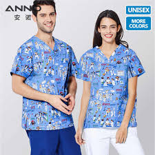 <b>ANNO Medical Scrubs</b> Women Men Short Sleeves <b>Clothing</b> Nurse ...