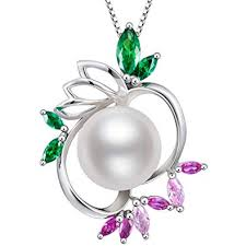 Gifts for Women Pearl Pendant Necklace, Freshwater ... - Amazon.com