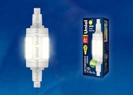 <b>Лампа</b> светодиодная (UL-00001554) <b>Uniel R7s 6W</b> 3000K ...